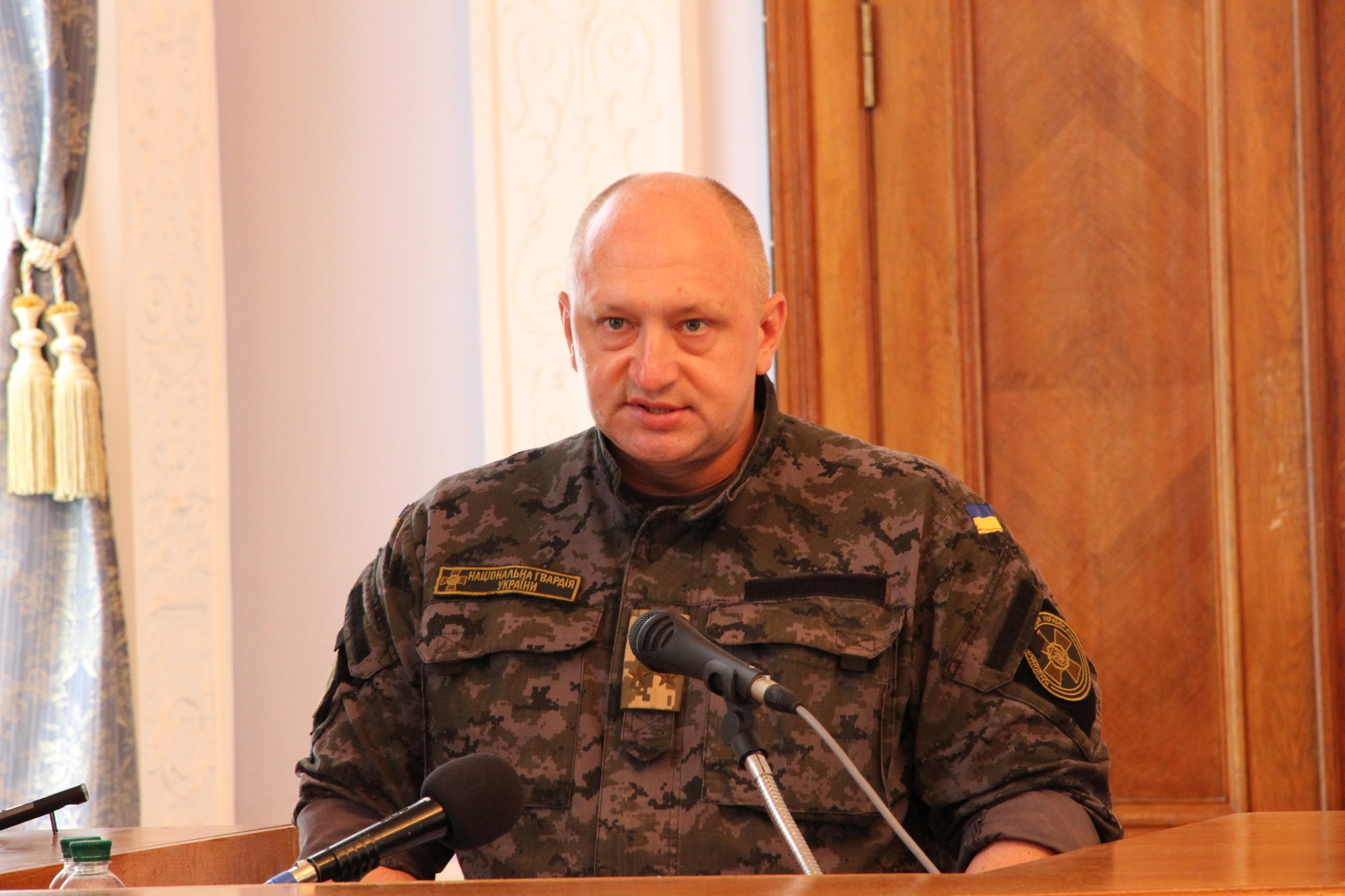 Мэр Николаева получил от Нацгвардейцев грамоту за помощь бойцам в зоне АТО (ФОТО), фото-1