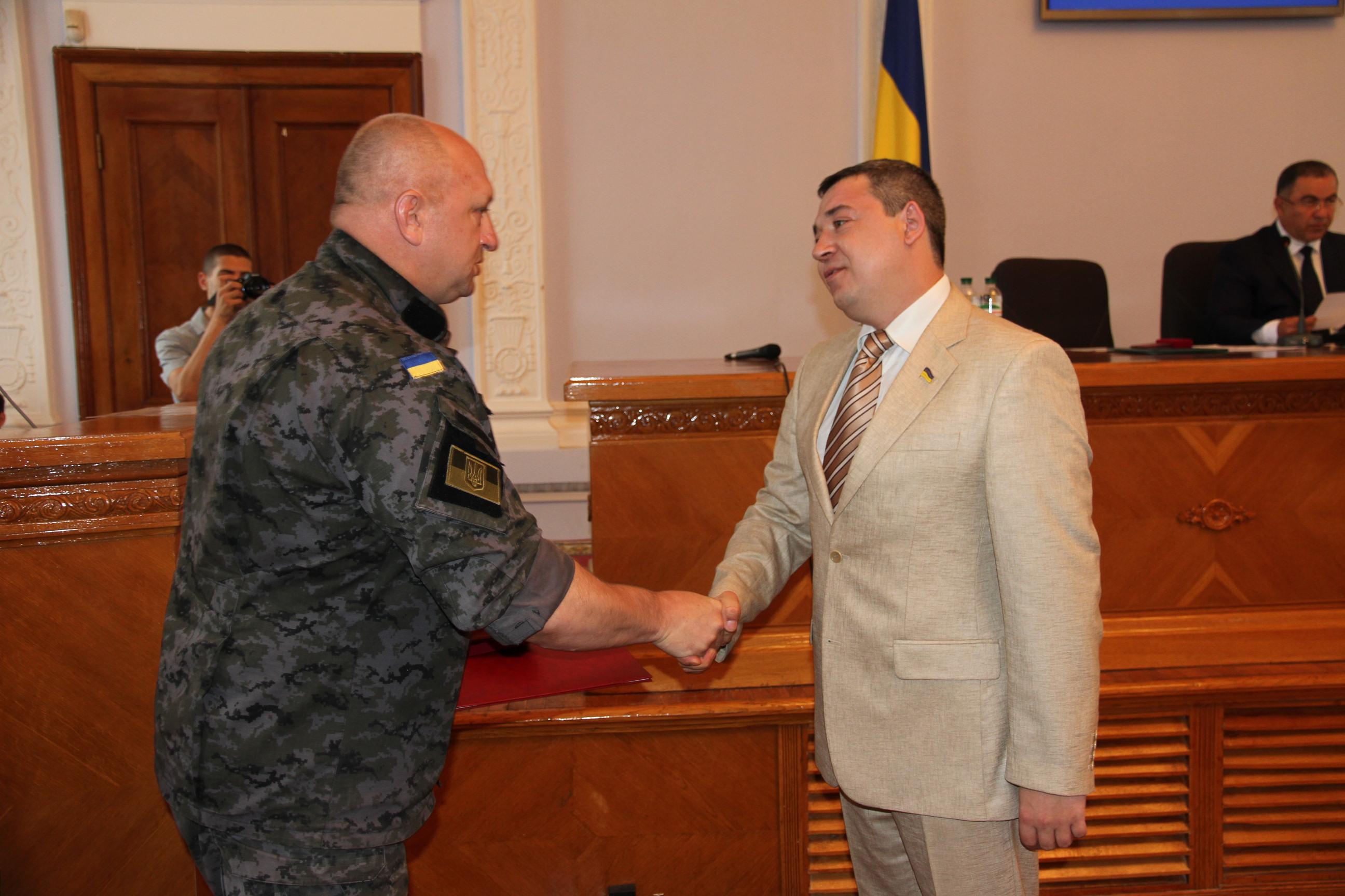 Мэр Николаева получил от Нацгвардейцев грамоту за помощь бойцам в зоне АТО (ФОТО), фото-5